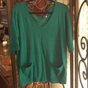 SALE!! Green sweater/blouse